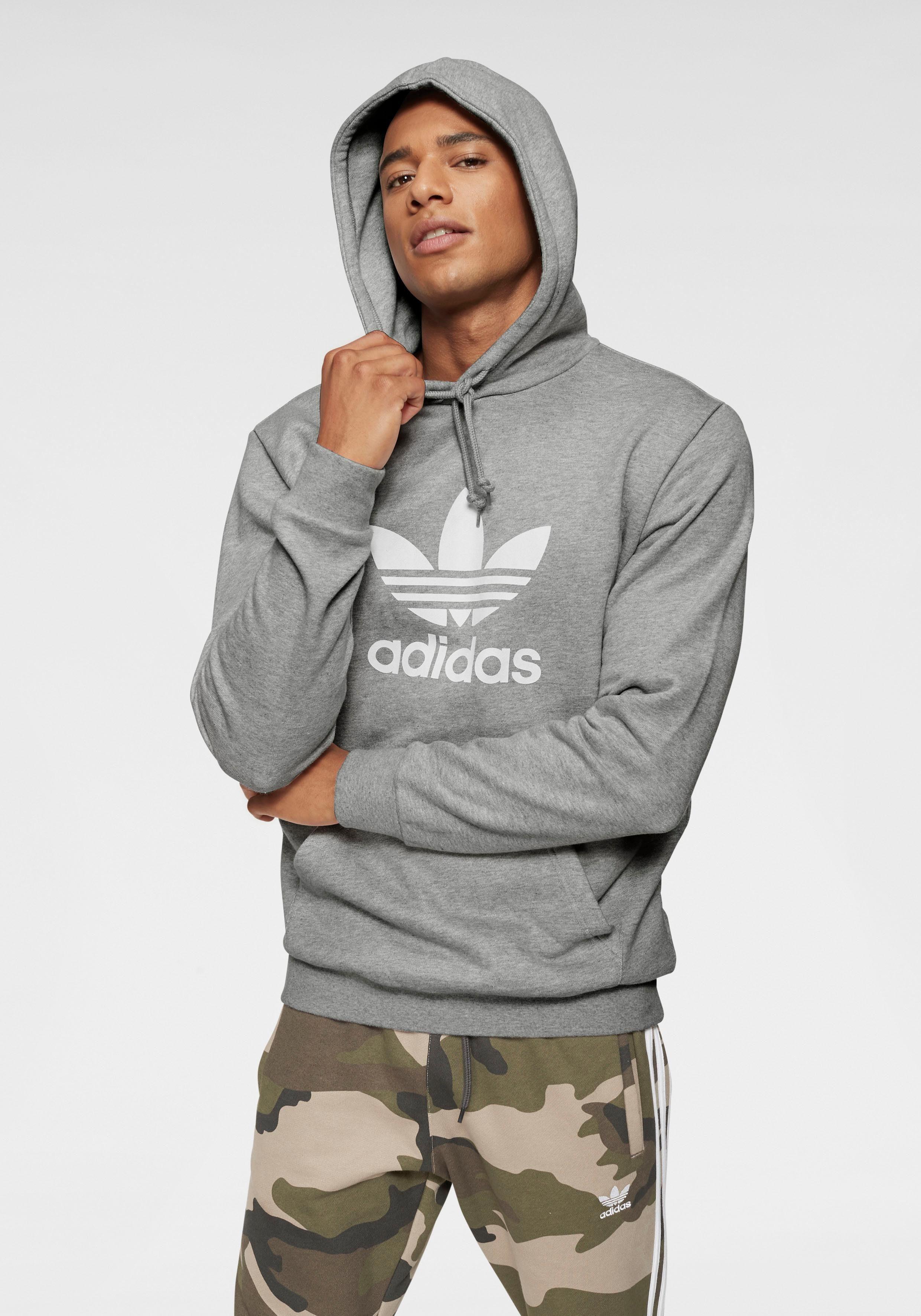 Herren adidas Originals Kapuzensweatshirt »TREFOIL HOODIE