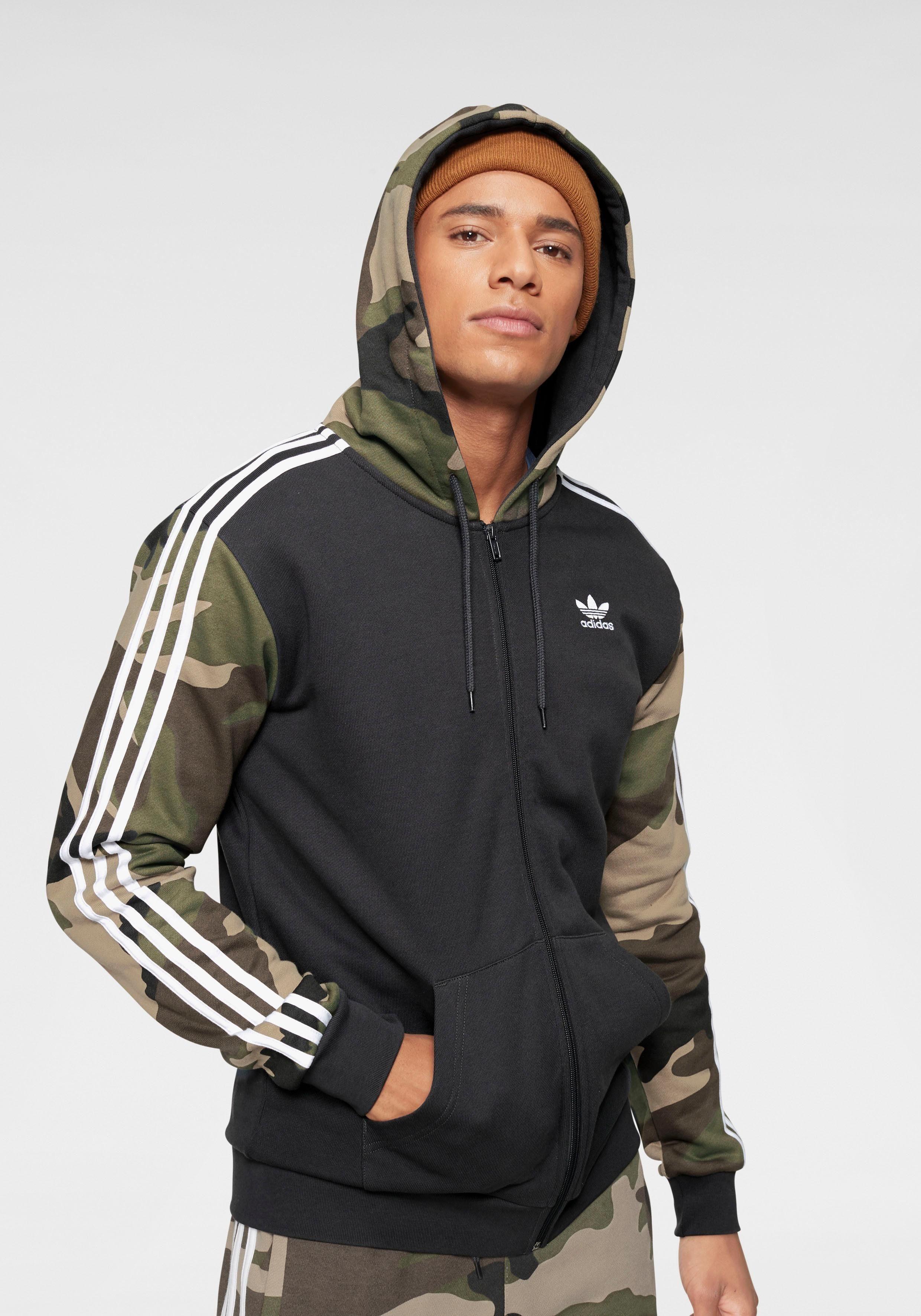 adidas Originals Kapuzensweatjacke »CAMO FULL ZIP HOODY« online kaufen | OTTO