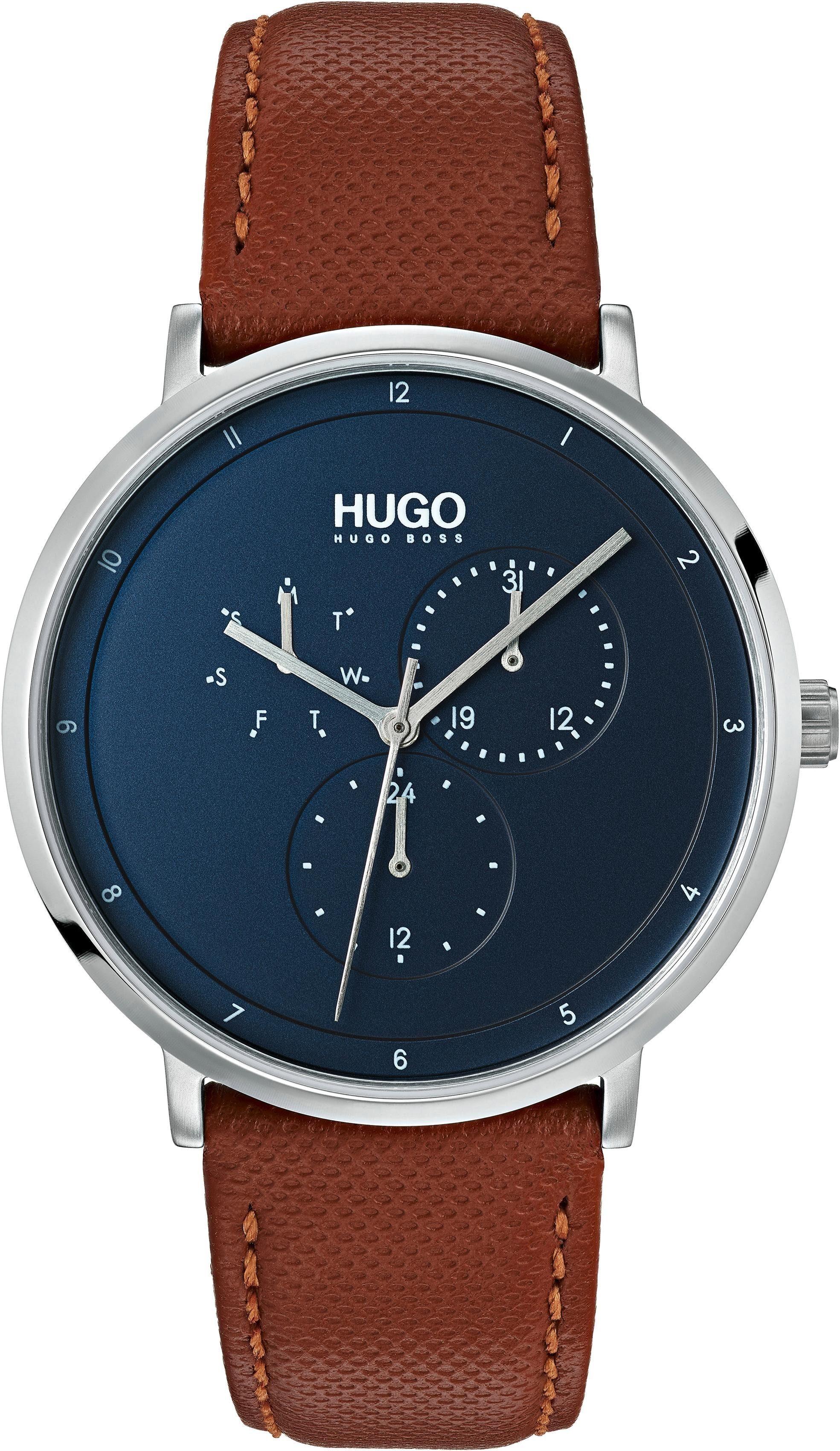 HUGO Multifunktionsuhr »Guide, 1530032«