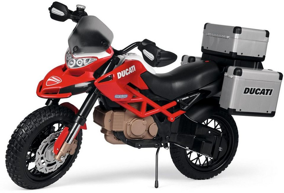 peg p rego elektro motorrad f r kinder ducati enduro. Black Bedroom Furniture Sets. Home Design Ideas