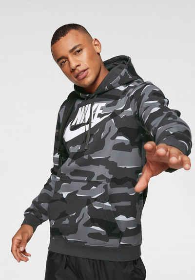 new style b0f0d 3ece2 Nike Sportswear Kapuzensweatshirt »M NIKE SPORTSWEAR CLUB CAMO HOODIE PO  BBGX«