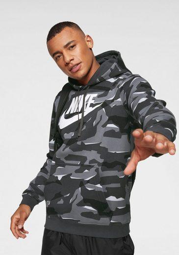Nike Sportswear Kapuzensweatshirt »M NIKE SPORTSWEAR CLUB CAMO HOODIE PO BBGX«