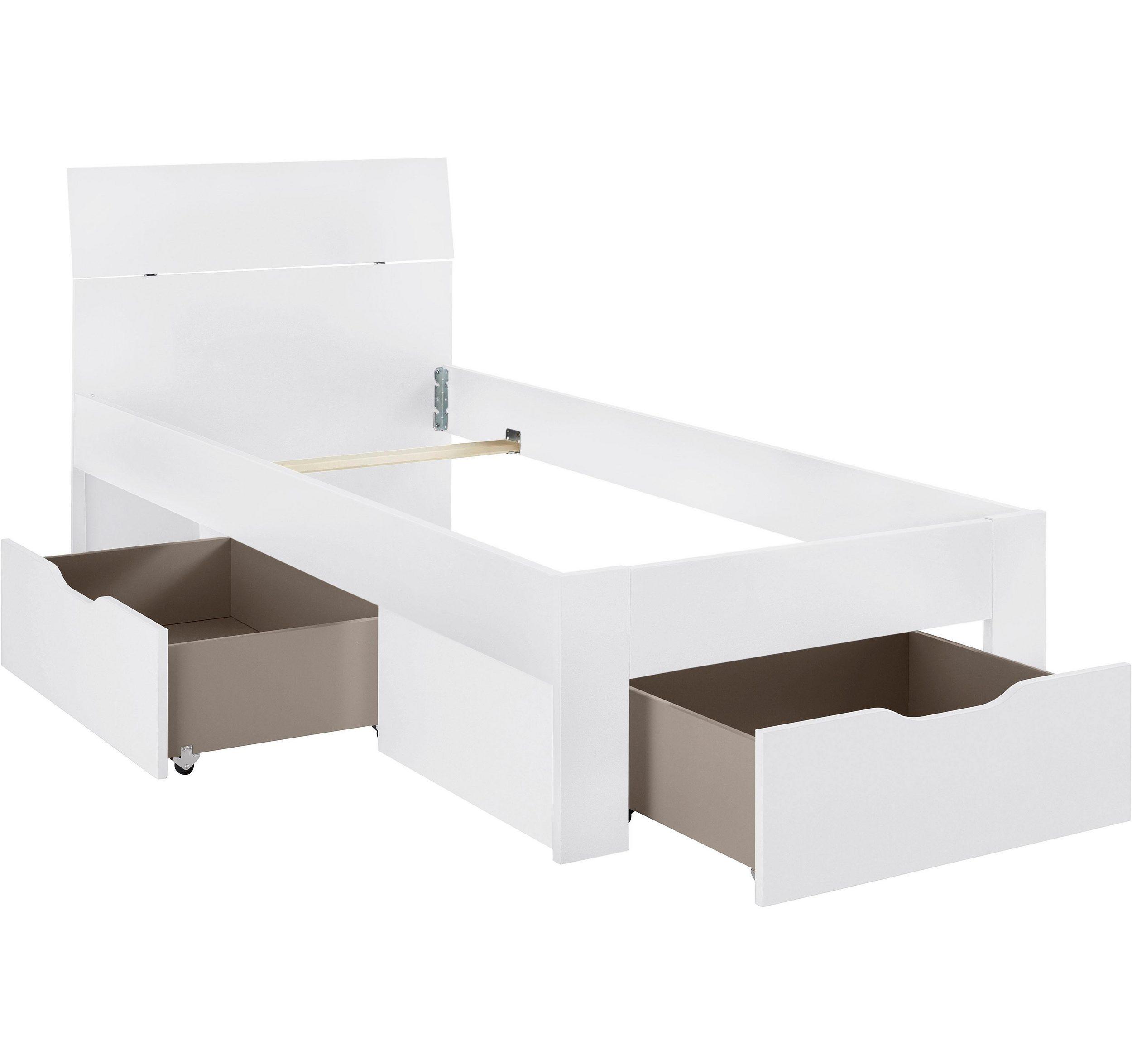 RAUCH PACK´S Möbelwerke Stauraumbett FLEXX - mit passendem Stauraum