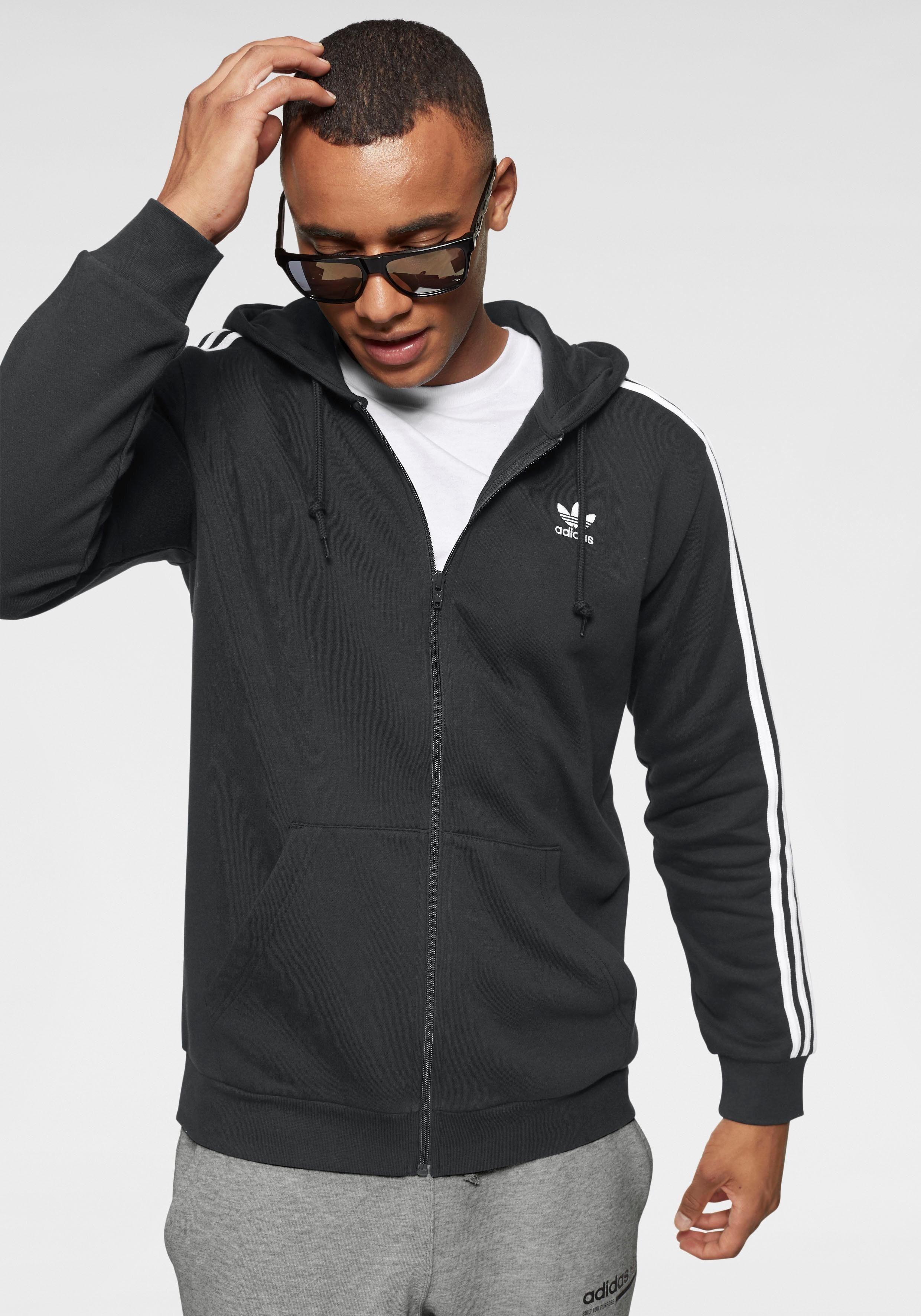 adidas Originals Kapuzensweatjacke »3 STRIPES FULL ZIP