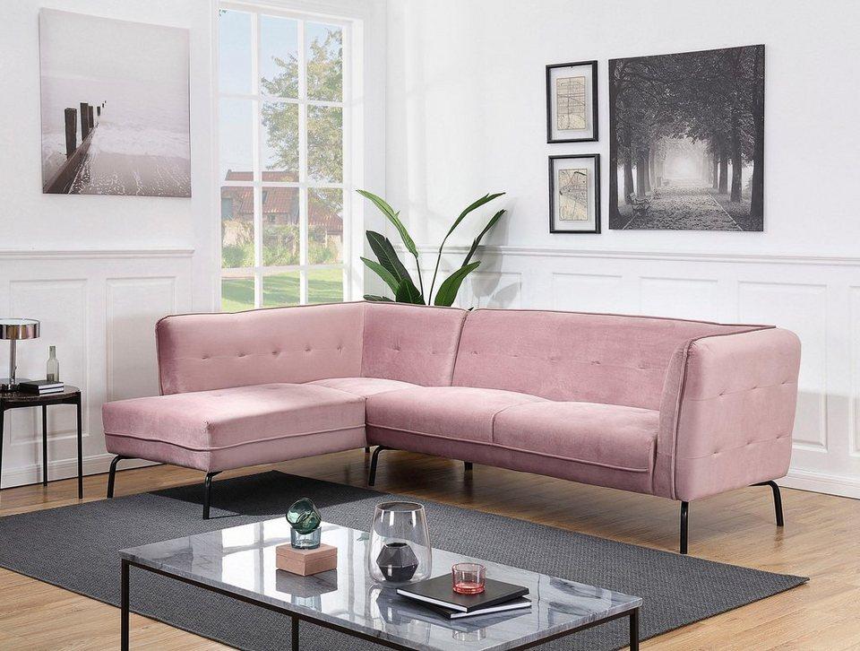 atlantic home collection polsterecke mit federkern in 3 gr en online kaufen otto. Black Bedroom Furniture Sets. Home Design Ideas