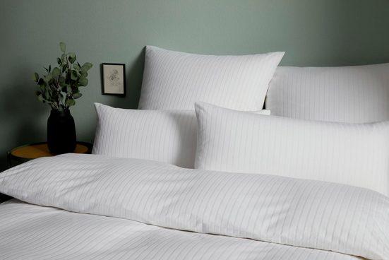 Bettwäsche »Solid Stripe«, Elegante, im dezenten Streifenlook