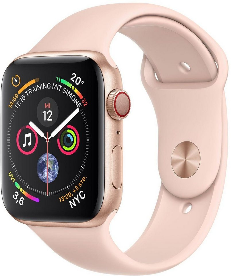 Smartwatches - Apple Series 4 GPS Cellular, Aluminiumgehäuse mit Sportarmband 44mm Watch  - Onlineshop OTTO