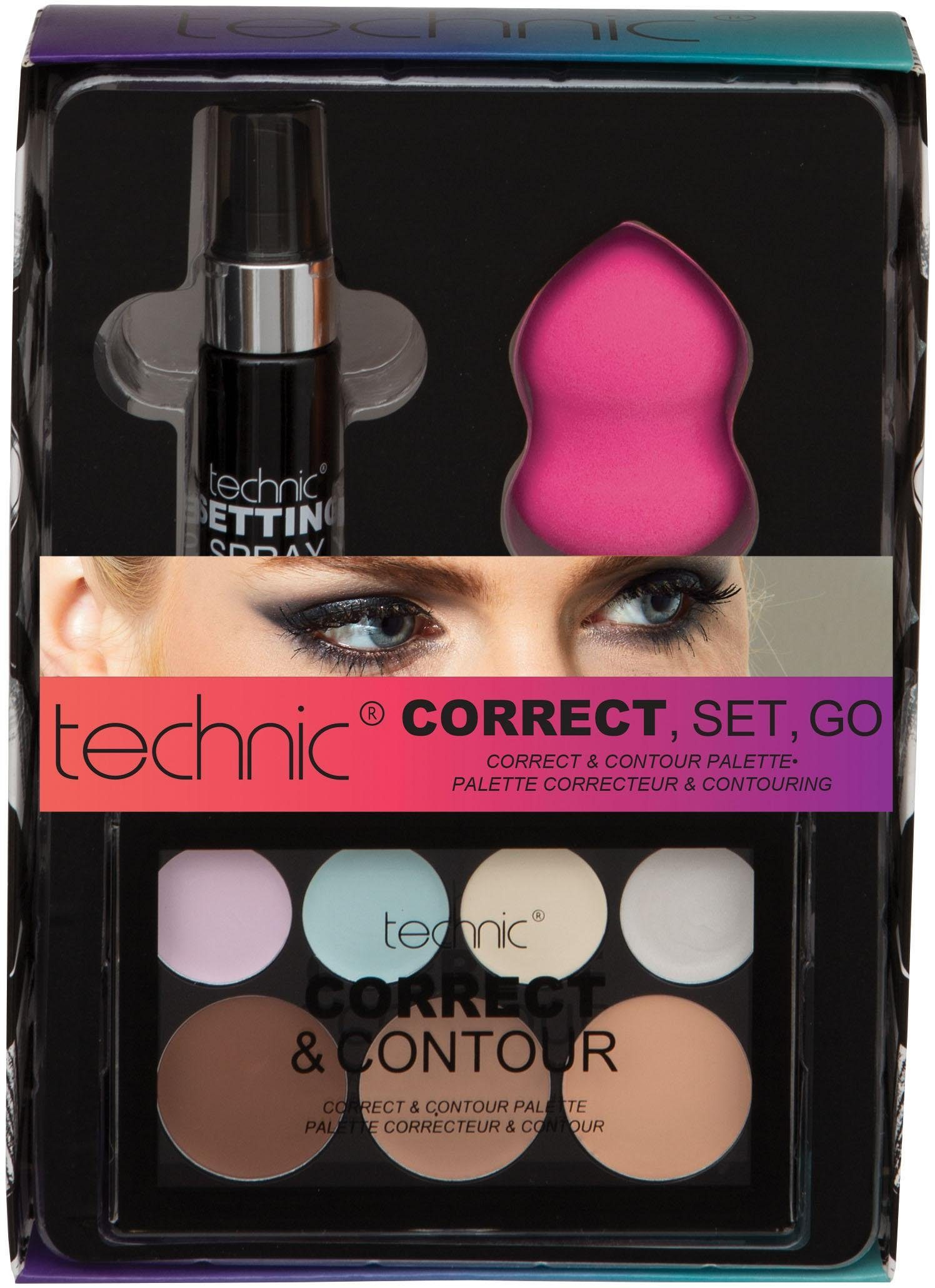 technic, »Correct, Set, Go«, Make Up-Set (3-tlg.)