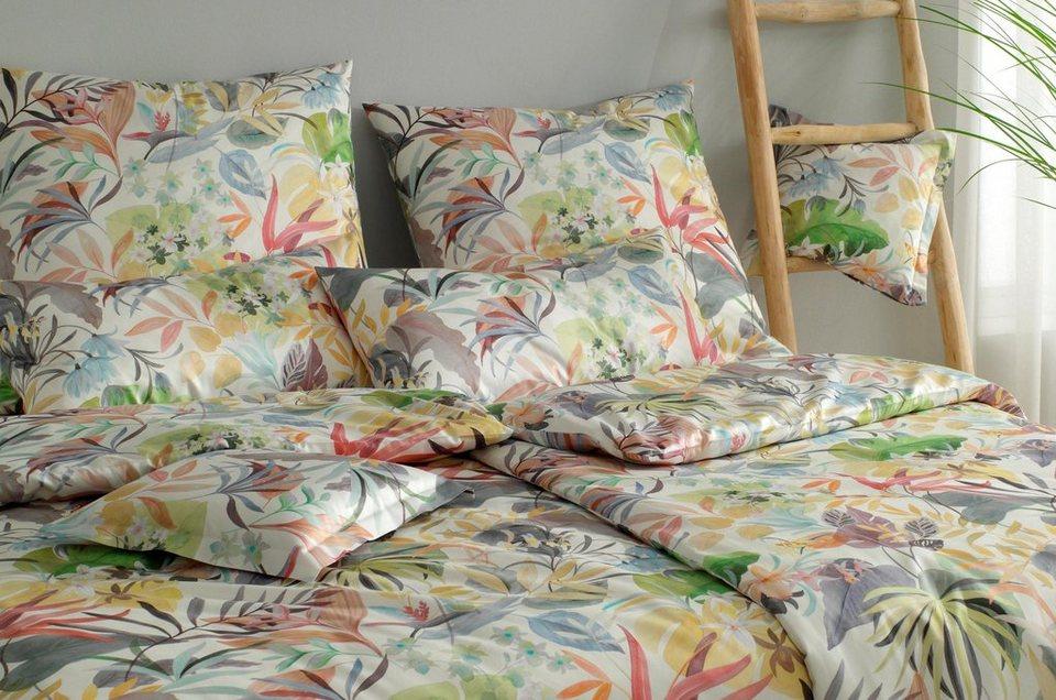 Bettwäsche Tropic Elegante Mit Tropischen Motiv Online Kaufen Otto