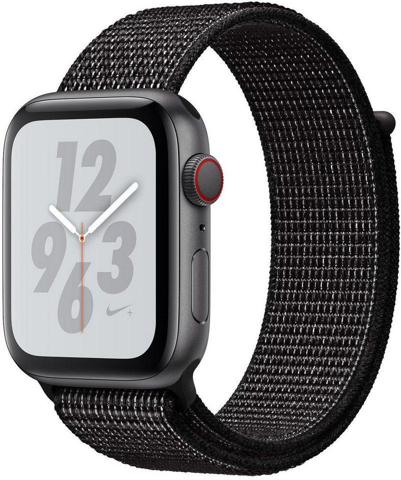Smartwatches - Apple Nike Series 4 GPS Cellular, Aluminiumgehäuse mit Nike Sportarmband Loop 40mm Watch  - Onlineshop OTTO