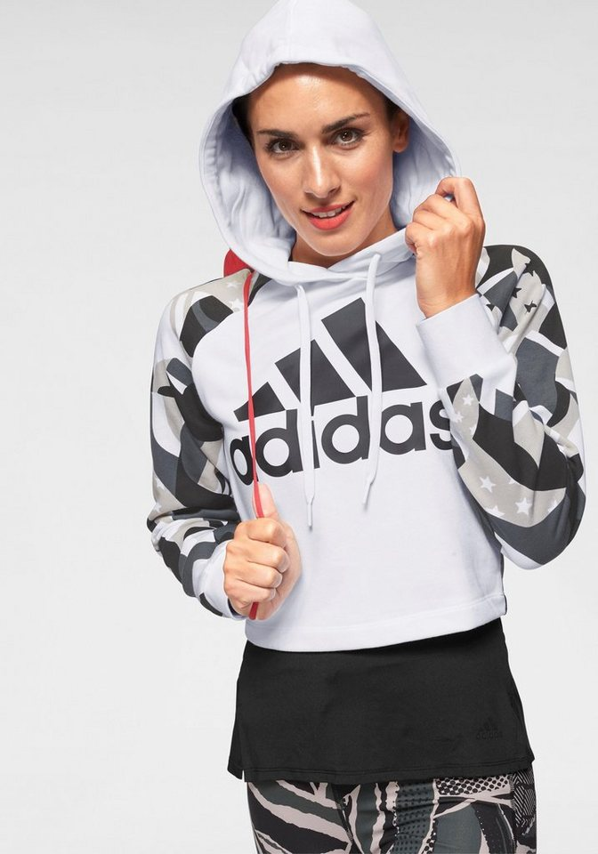 watch 2e3c3 88d66 adidas Performance Kapuzensweatshirt »SID HOOD ALL OVER PRINT«