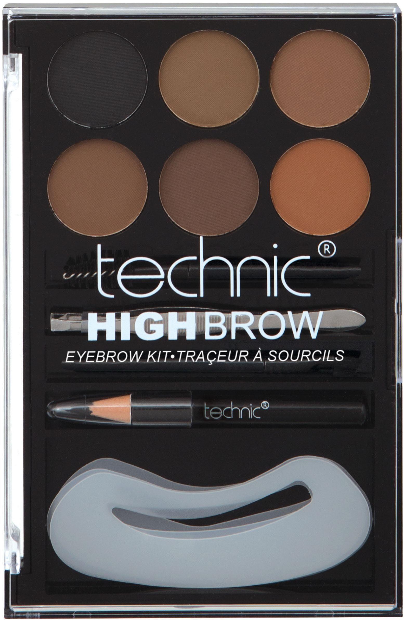 technic, »High Brow«, Augenbrauen-Set (9-tlg.)