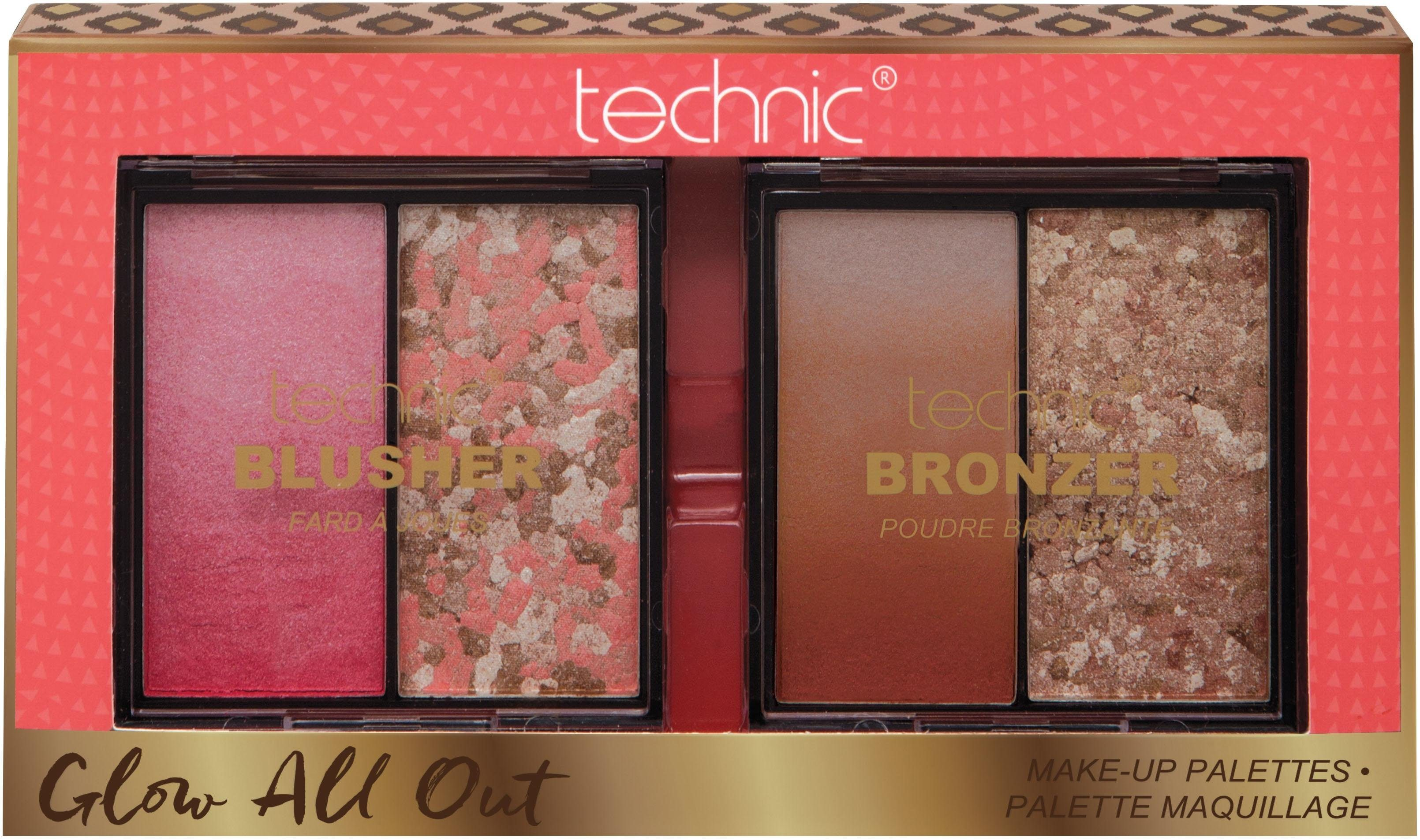 technic, »Glow All Out«, Make Up-Set (2-tlg.)