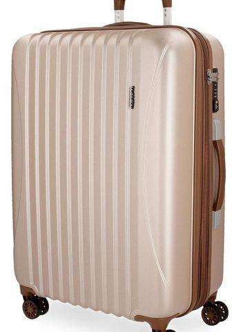 MOVOM Plastikinis lagaminas ant ratukų