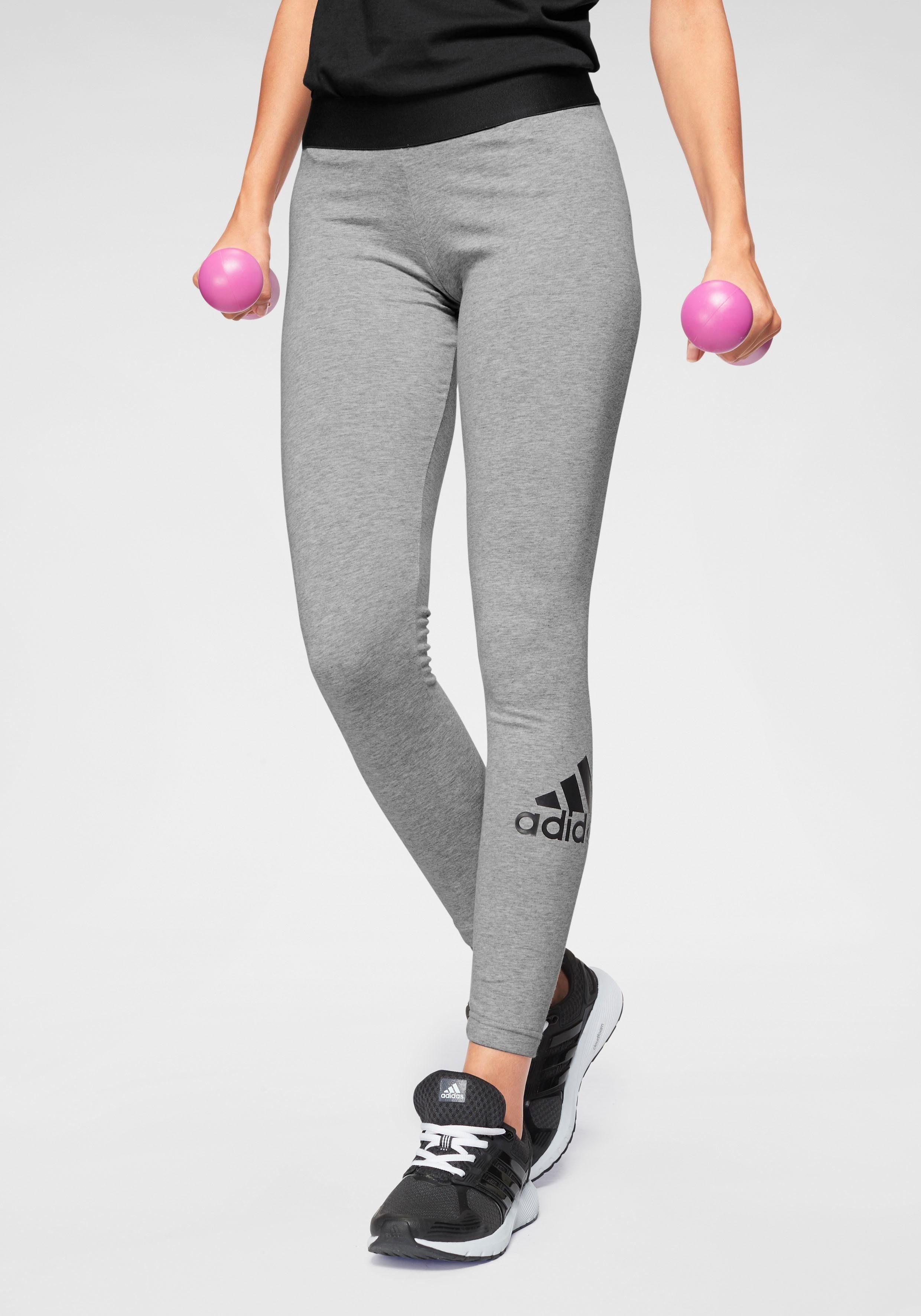 adidas Performance, Leggings MH BOS TIGHT für Mädchen, grau