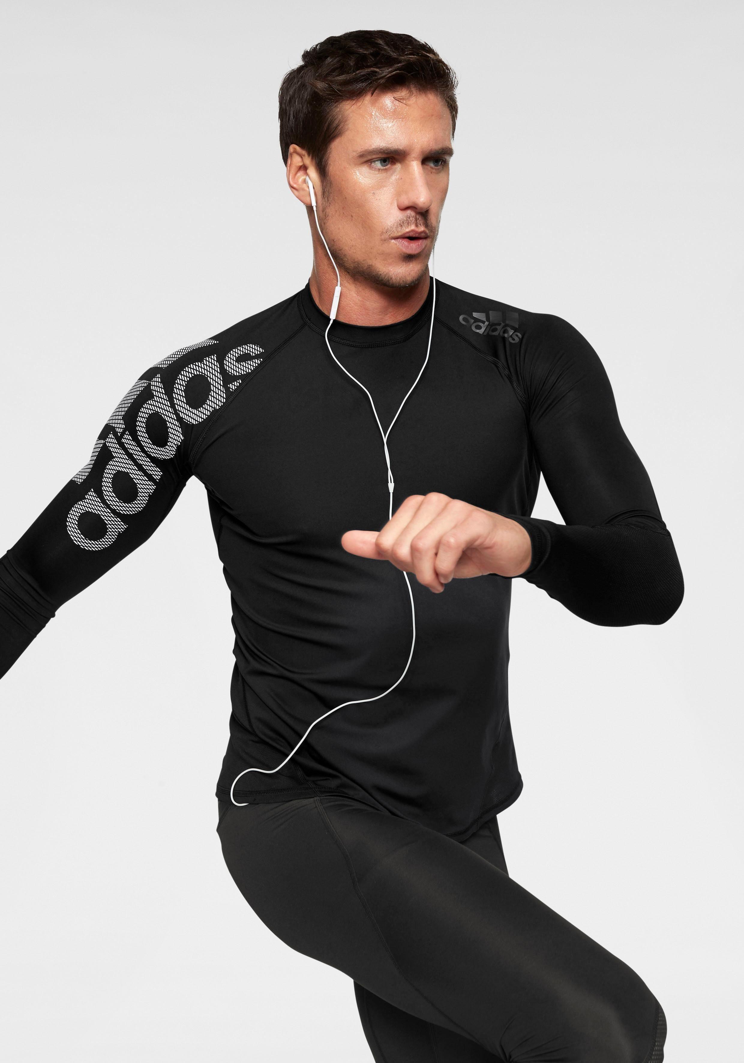 adidas Performance Funktionsshirt »ALPHASKIN SPORT LEVEL LONGSLEEVE BOS« online kaufen | OTTO