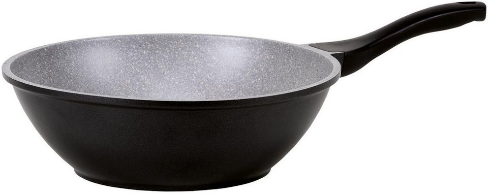 kr ger wok barcelona aluminiumguss 30 cm induktion. Black Bedroom Furniture Sets. Home Design Ideas