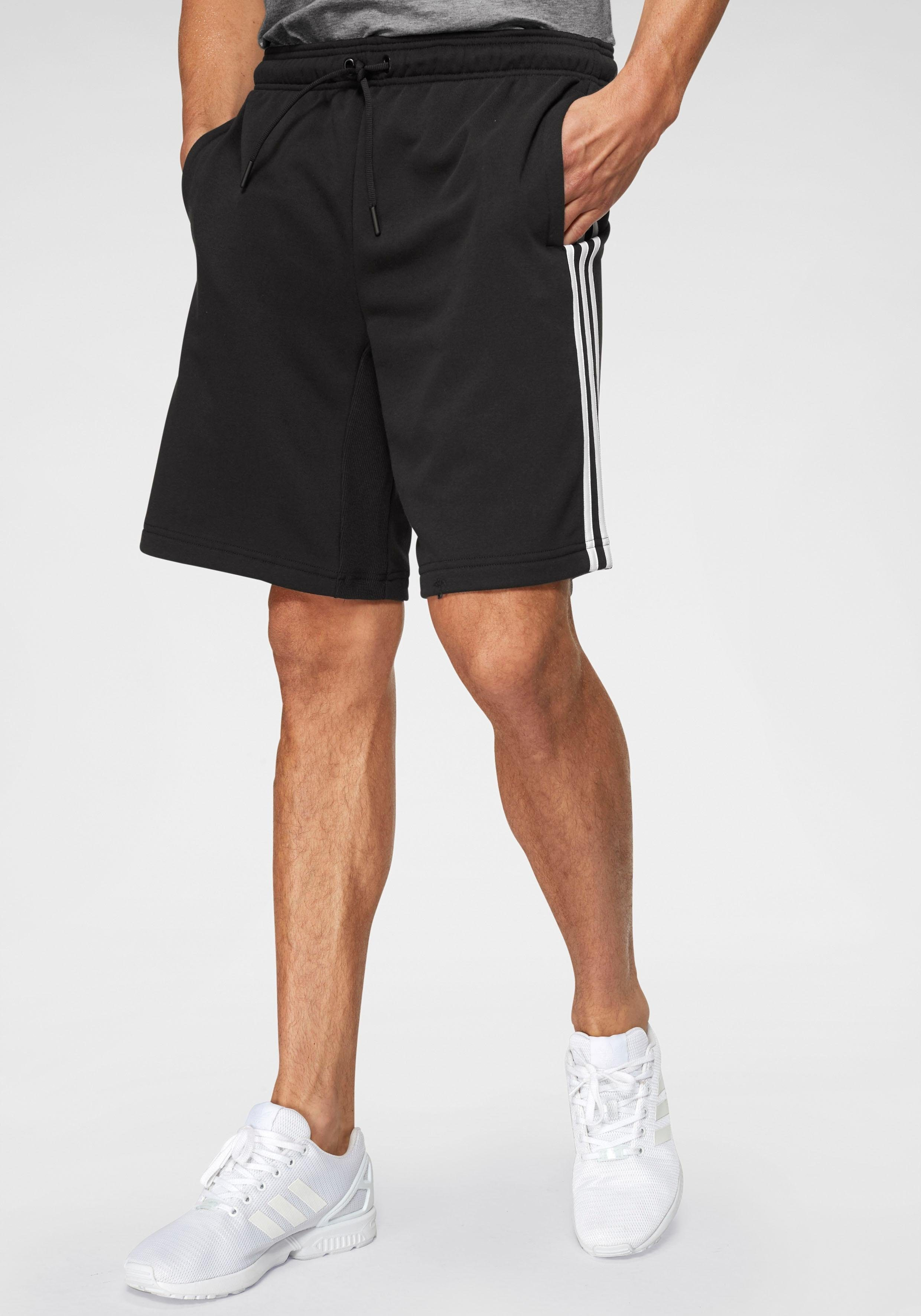 adidas Damen kurze Hose Essentials 3 Stripes Woven