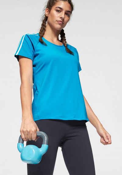 Activewear Shirt S 36 Schwarz Blau Retro Sport Fitness Gemütlich Women's Clothing