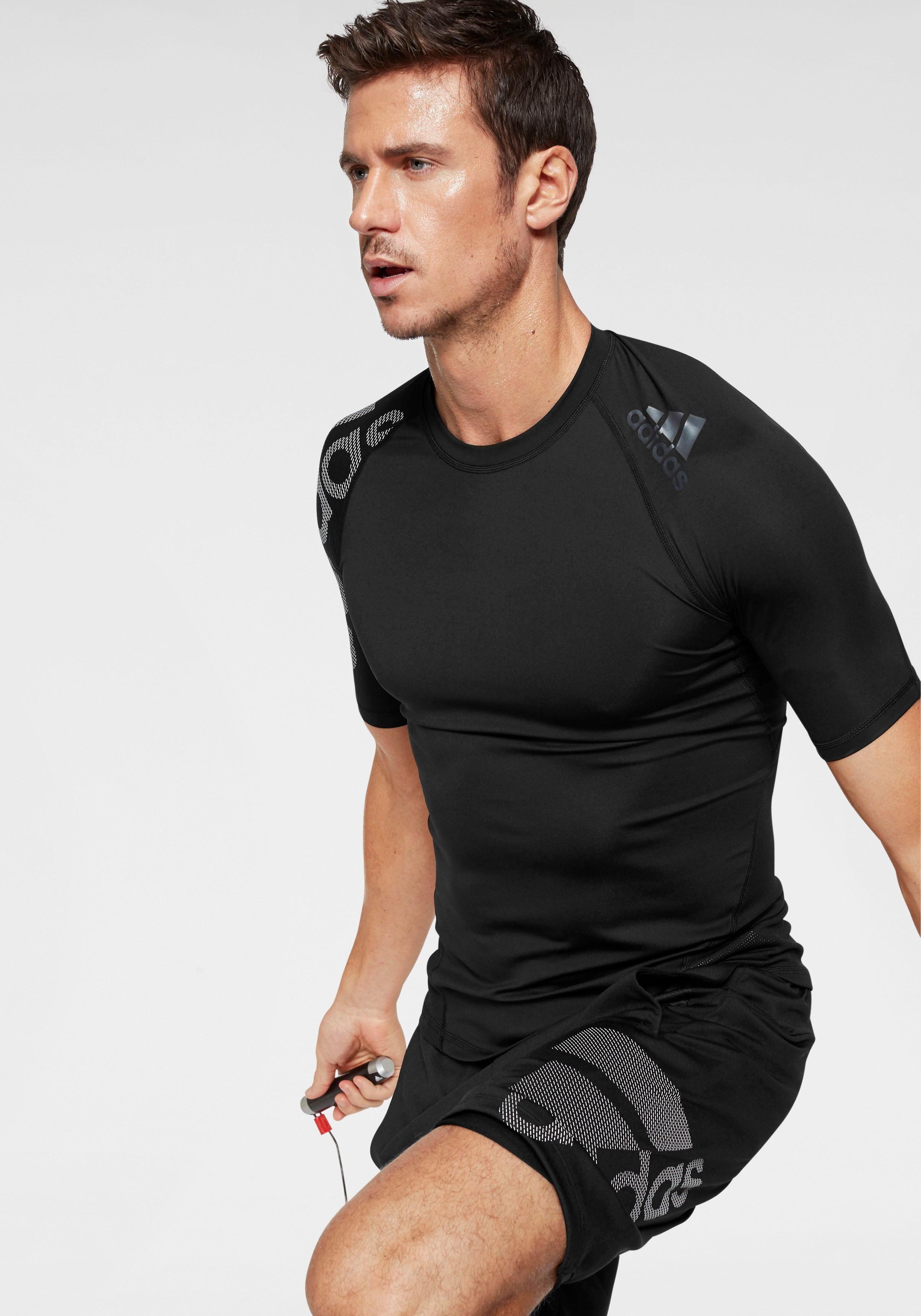 adidas Performance Funktionsshirt »ALPHASKIN SPORT LEVEL SHORT SLEEVE BOS« online kaufen | OTTO