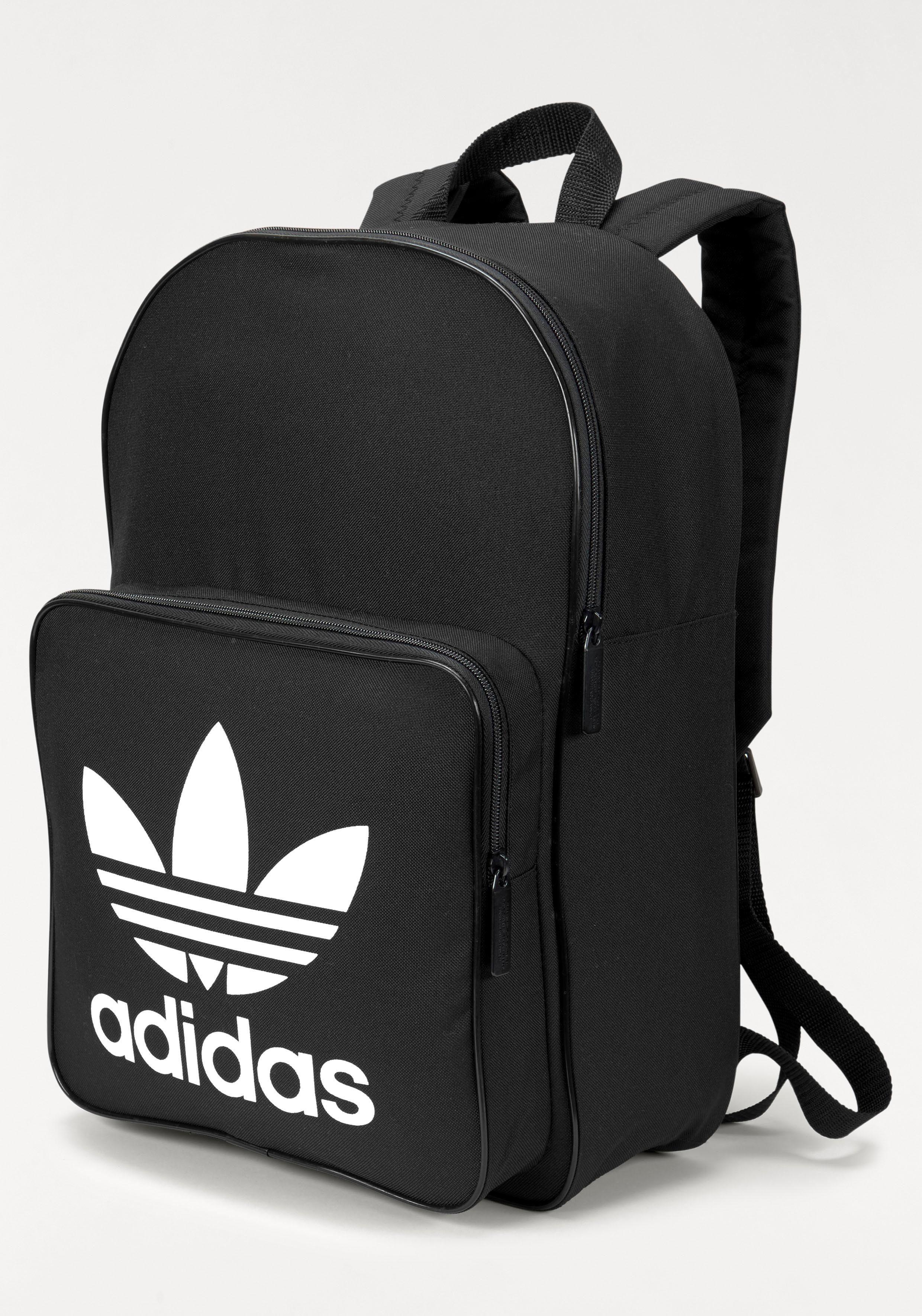 Rot schwarzer adidas Rucksack