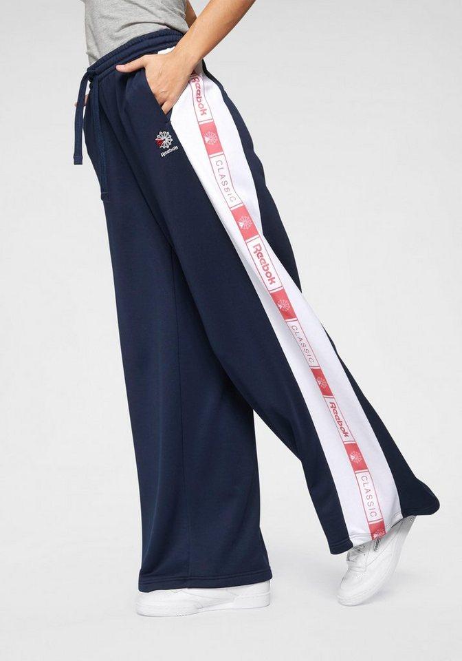 Reebok Classic Trainingshose »CL TRACKPANTS« | Sportbekleidung > Sporthosen > Trainingshosen | Blau | Reebok Classic
