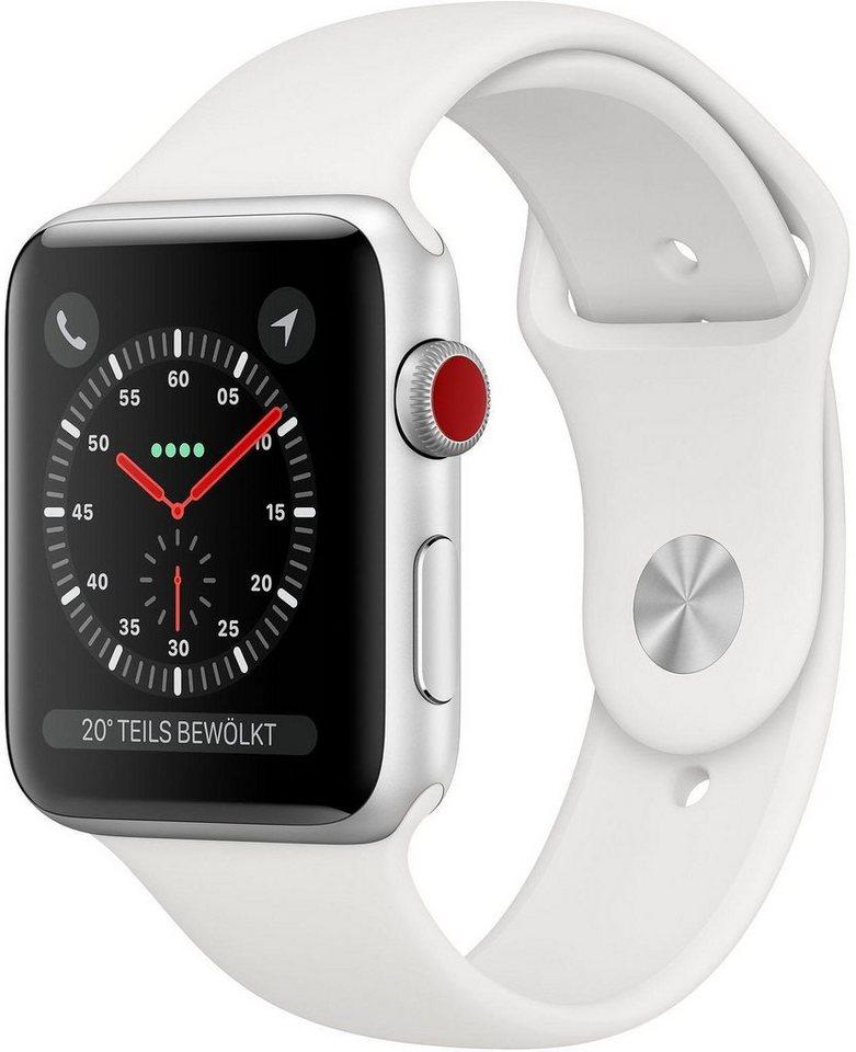 Smartwatches - Apple Series 3 GPS Cellular, Aluminiumgehäuse mit Sportarmband 42mm Watch  - Onlineshop OTTO