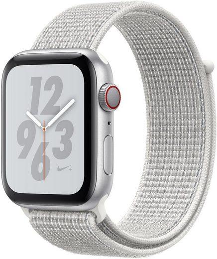 Apple Nike+ Series 4 GPS + Cellular, Aluminiumgehäuse mit Nike Sportarmband Loop 40mm Watch (Watch OS 5)
