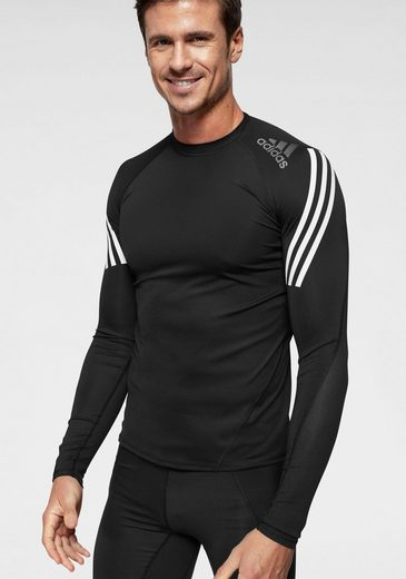 adidas Performance Langarmshirt »ALPHASKIN SPORT LEVEL LONGSLEEVE 3 STRIPES«