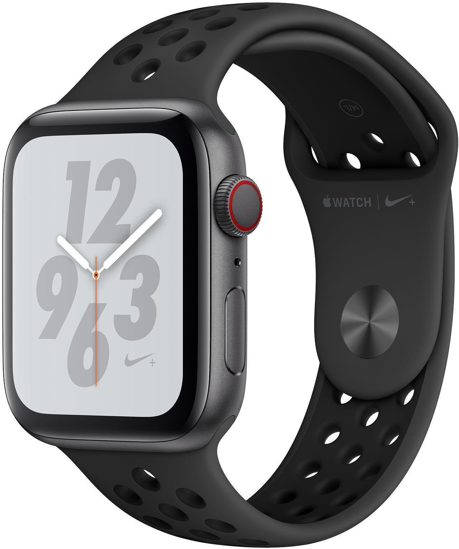 Nike+ Series 4 GPS + Cellular, Aluminiumgehäuse mit Nike Sportarmband, 40mm Watch (watchOS 5)
