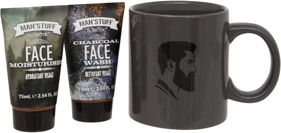 MAN'STUFF Geschenk-Set »The Man Mug«, 3-tlg.