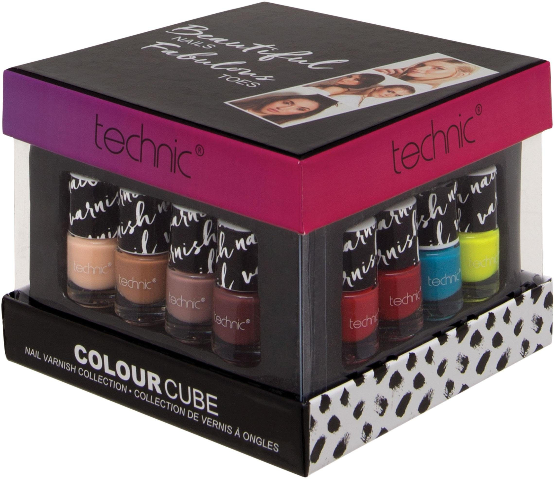 technic, »Colour Cube«, Nagellack-Set (16-tlg. Set)