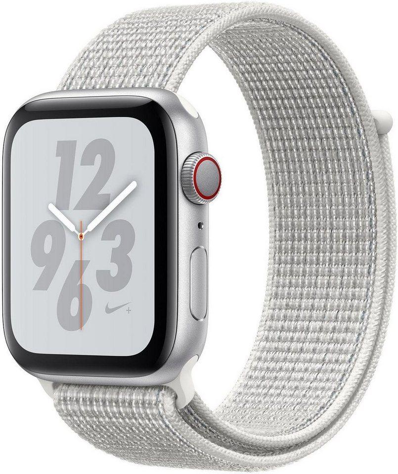 Smartwatches - Apple Nike Series 4 GPS Cellular, Aluminiumgehäuse mit Nike Sportarmband Loop 44mm Watch  - Onlineshop OTTO