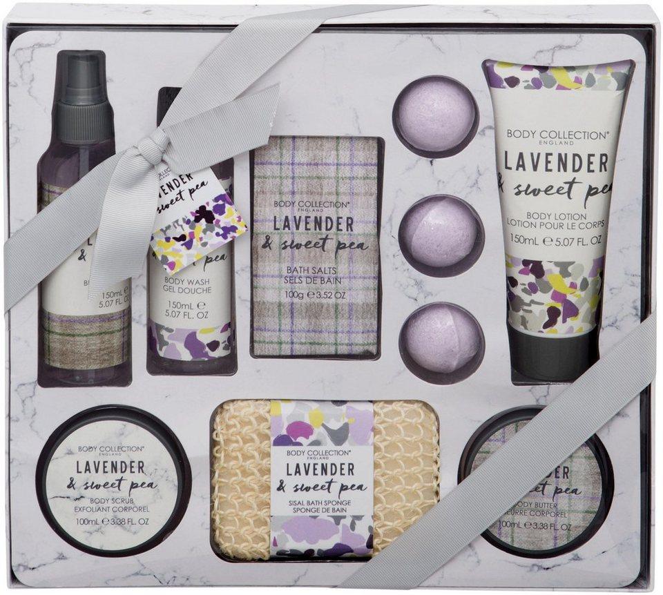 Körperpflege-Set »Lavender & Sweet Pea Hamper«, 10-tlg. online kaufen | OTTO