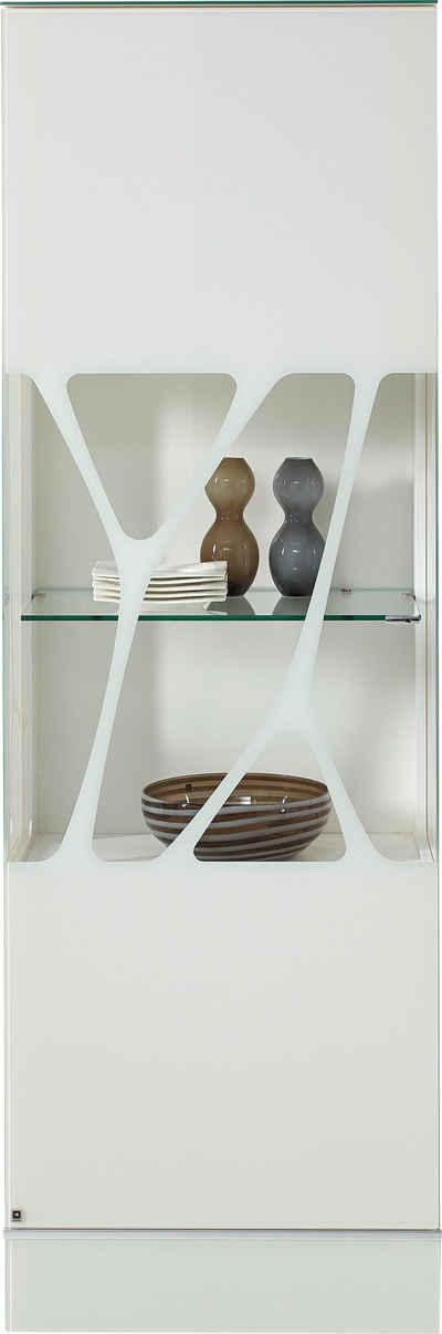 LEONARDO Glasvitrine »CUBE« mit Genetics, wahlweise mit Beleuchtung, Höhe 192 cm