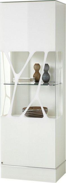 LEONARDO Glasvitrine »CUBE« mit Genetics  wahlweise mit Beleuchtung  Höhe 192 cm   Wohnzimmer > Vitrinen > Glasvitrinen   Leonardo