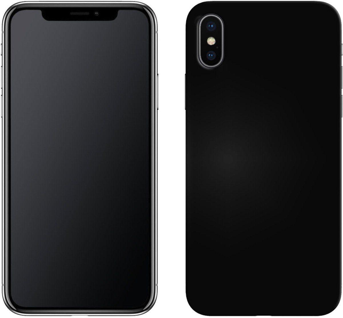 PEDEA Handytasche »Soft TPU Case für iPhone XS«