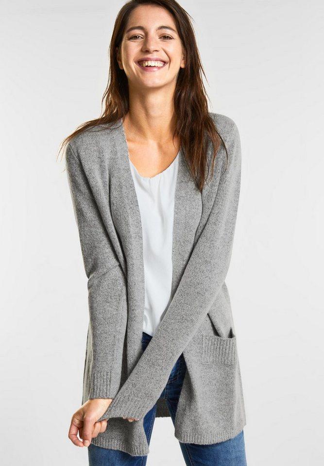 neue Stile 60807 6fe14 STREET ONE Cardigan, Flauschige Strickjacke Kerina online kaufen | OTTO