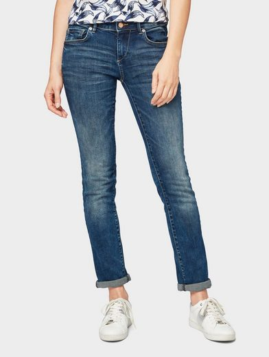 TOM TAILOR Straight-Jeans »Carrie Straight Jeans«