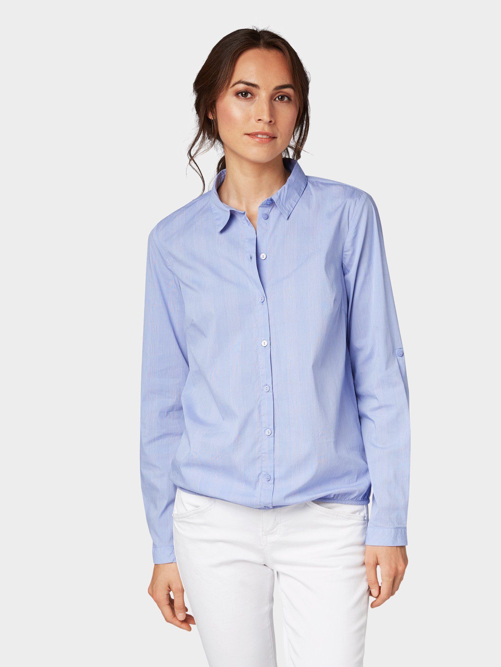 TOM TAILOR Shirtbluse »Schlichte Bluse«