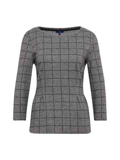 Sweatshirt »Karierter Pullover«