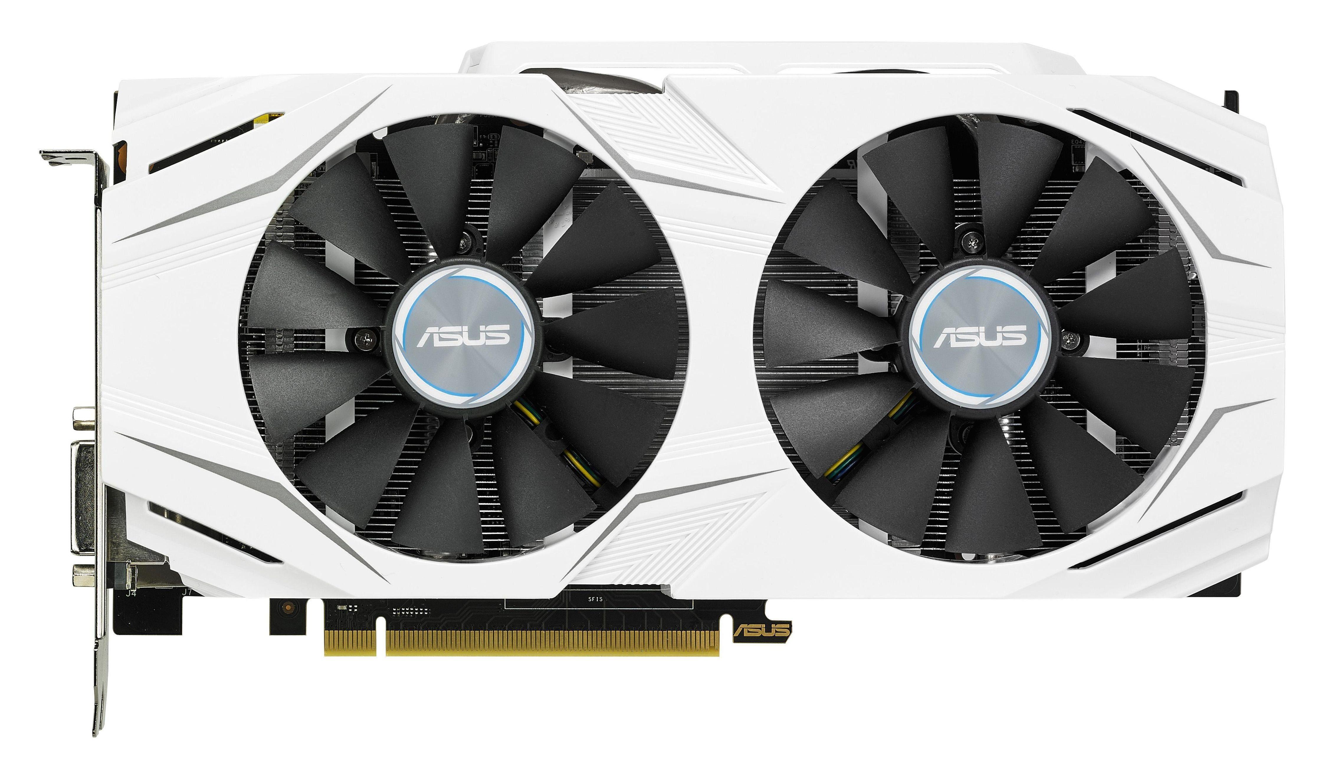 ASUS GeForce DUAL GTX 1060 OC 6 GB »Gaming Grafikkarte«
