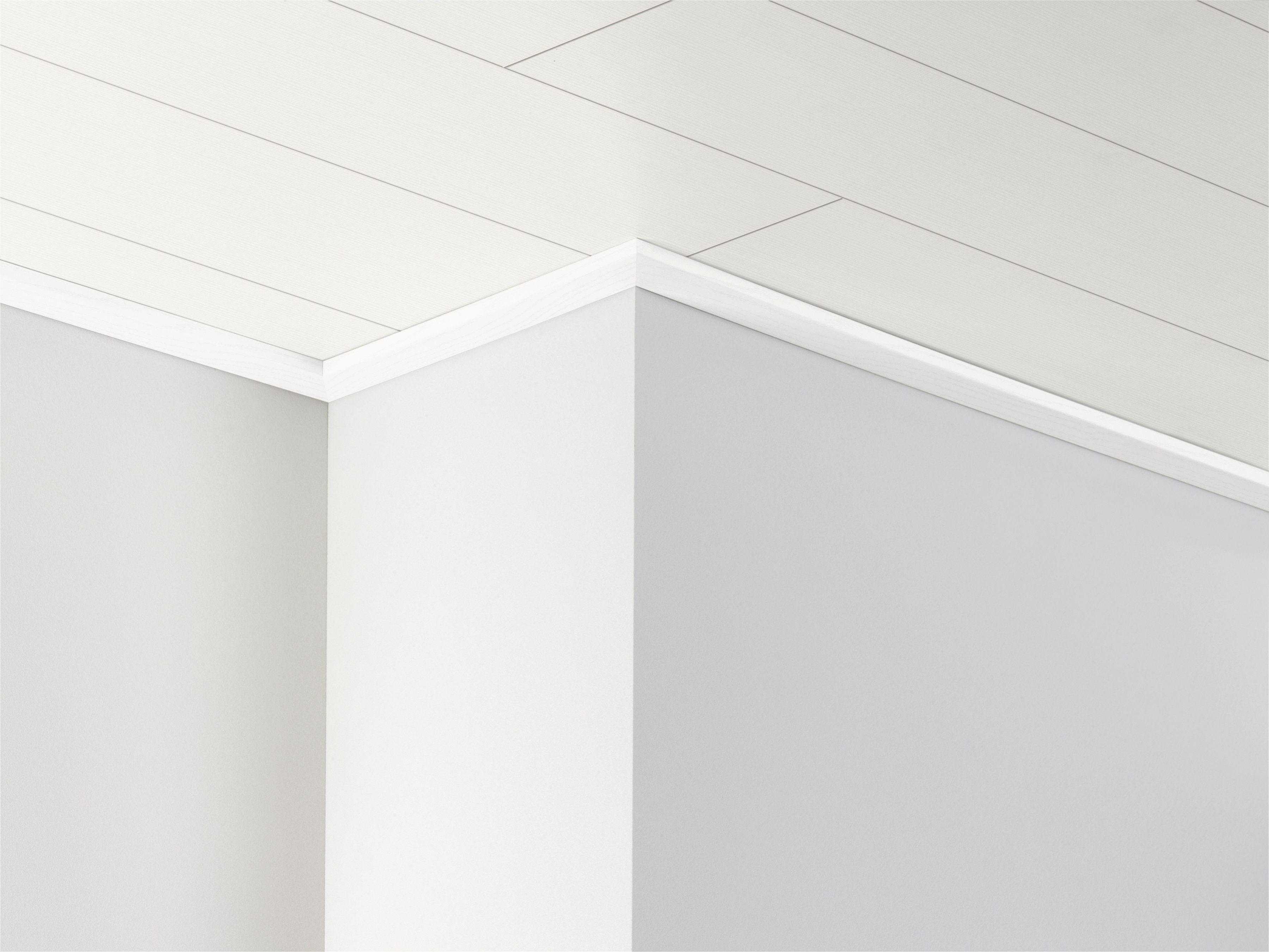 PARADOR Deckenleiste »DAL 3 - Esche weiß Dekor«, 2570 x 34 x 12 mm
