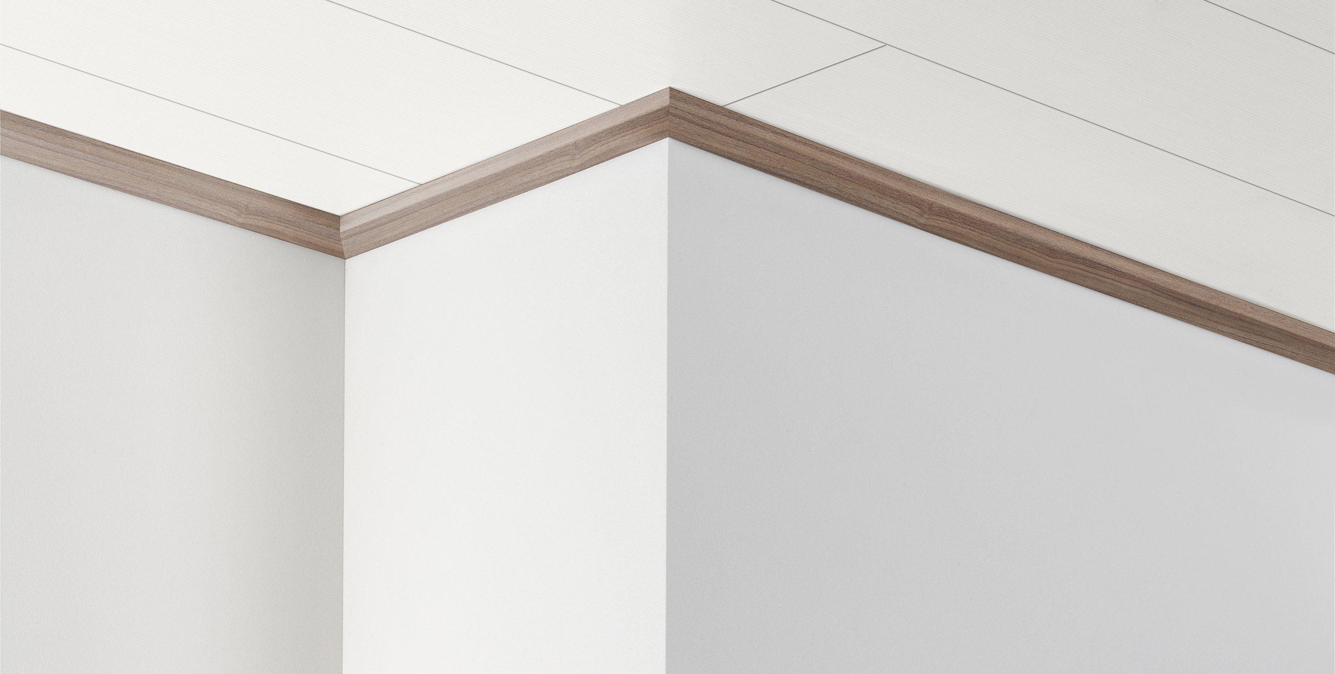 PARADOR Deckenleiste »DAL 3 - Nussbaum Dekor«, 2570 x 34 x 12 mm