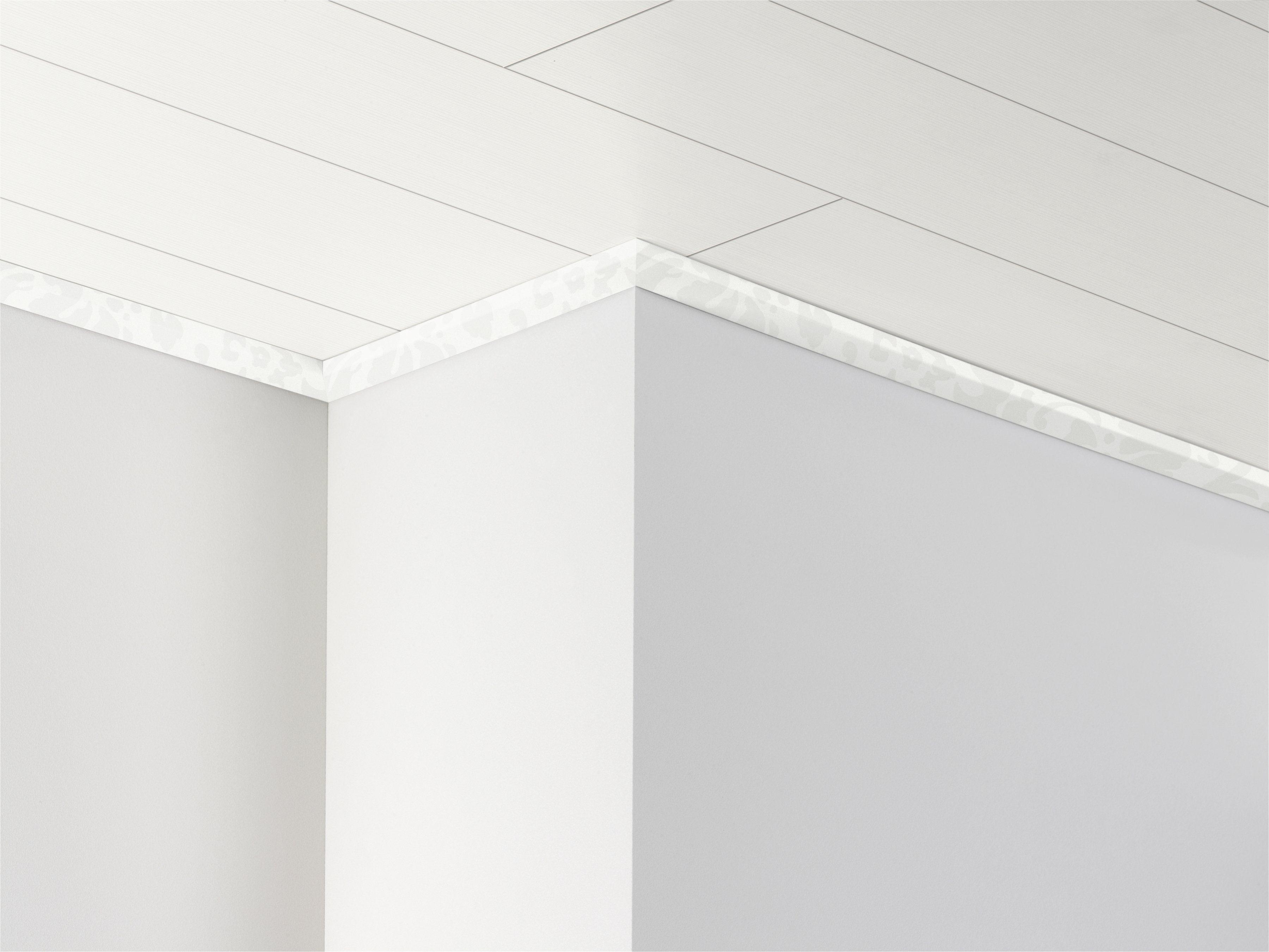 PARADOR Deckenleiste »DAL 3 - Floral weiß Dekor«, 2570 x 34 x 12 mm