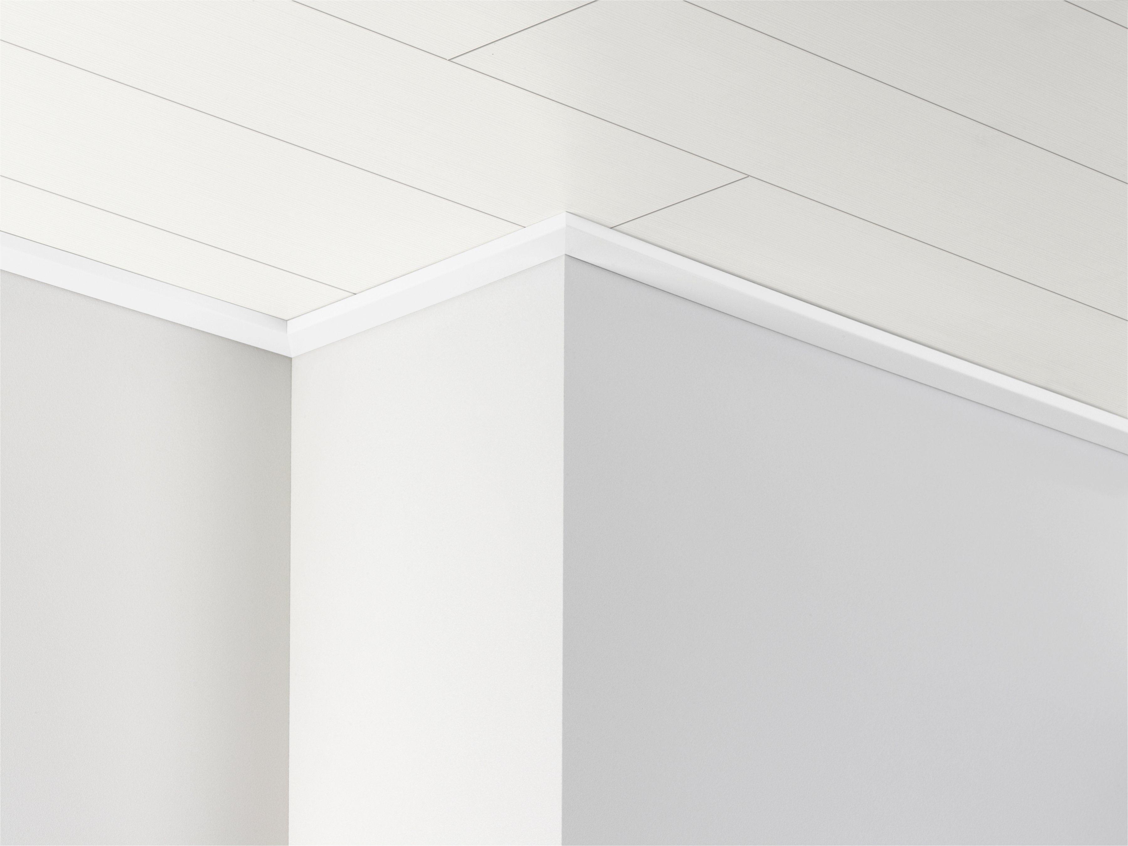 PARADOR Deckenleiste »DAL 3 - Weiß Hochglanz Dekor«, 2570 x 34 x 12 mm