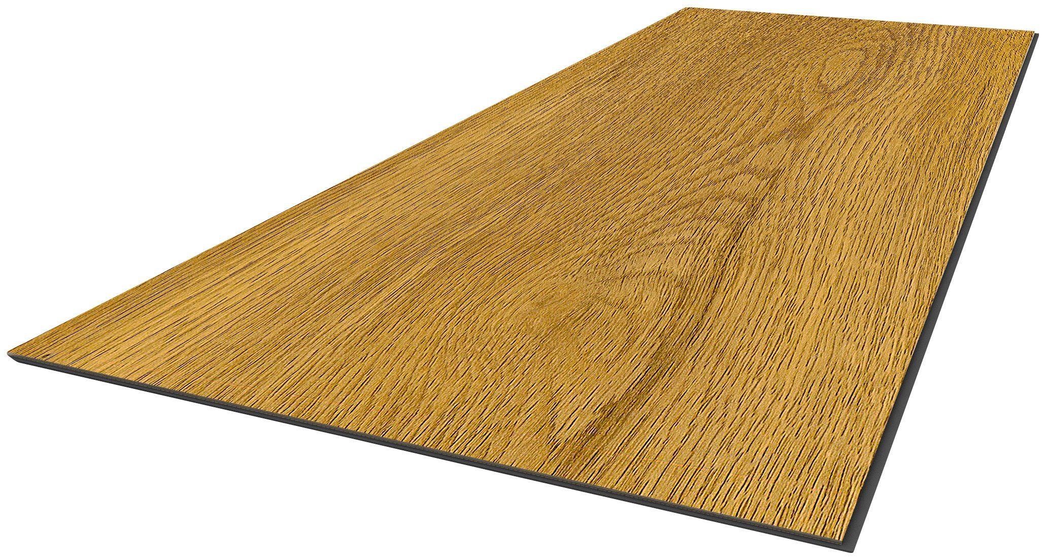 Vinylboden »Trento - Eiche natur«, 60 x 30 cm, Stärke 4 mm, 3,34 m²