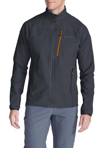 Herren Eddie Bauer First Ascent Outdoorjacke Herren-Sandstone Softshell Jacke blau | 04057682121109