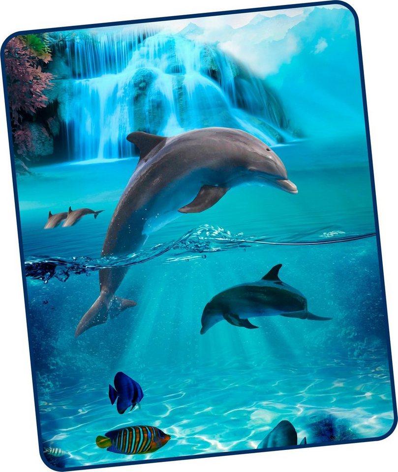 Wohndecke Will Good Morning Mit Delfinen Otto
