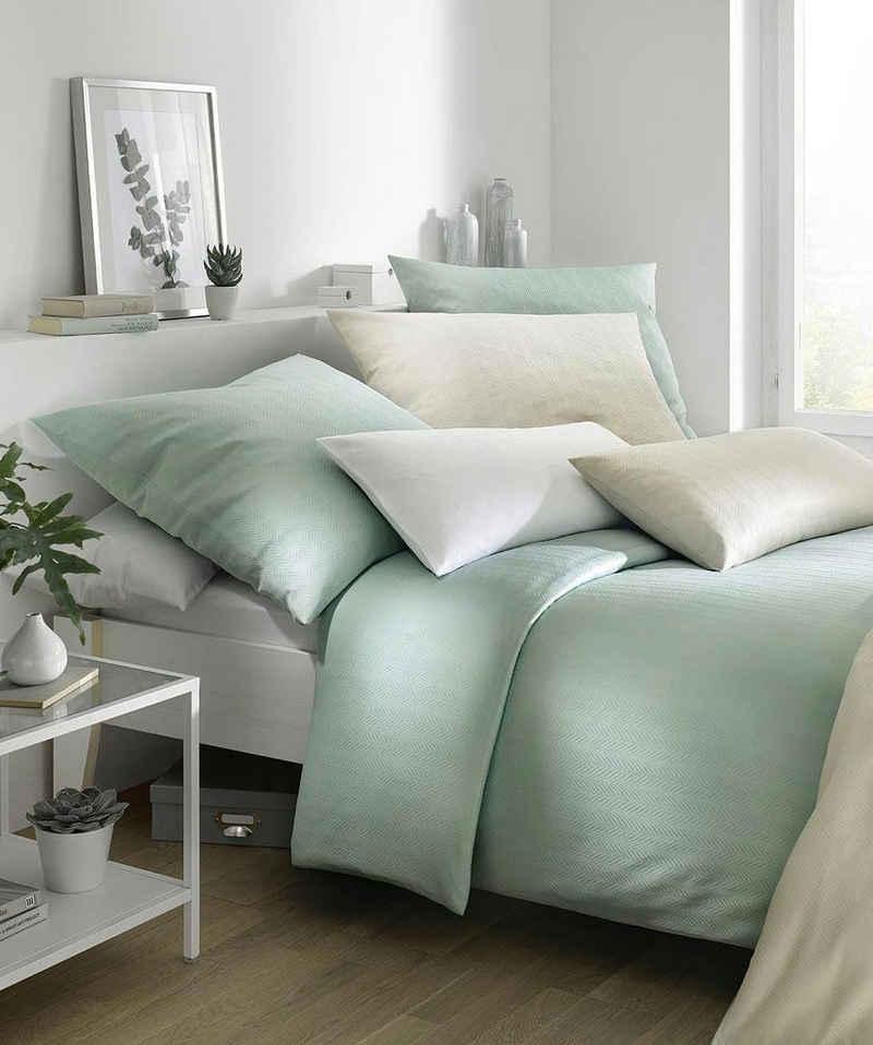 Bettwäsche »Jade«, fleuresse, mit dezentem Muster